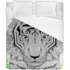 Tiger Head Duvet Cover (california King Size)