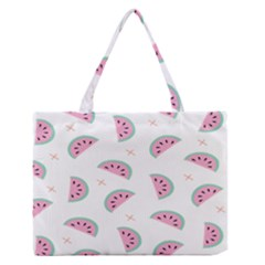 Watermelon Wallpapers  Creative Illustration And Patterns Medium Zipper Tote Bag