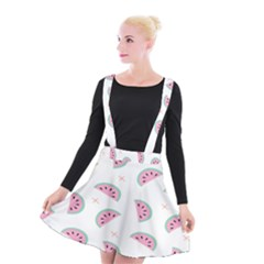 Watermelon Wallpapers  Creative Illustration And Patterns Suspender Skater Skirt