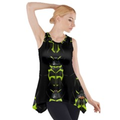 Beetles Insects Bugs Side Drop Tank Tunic