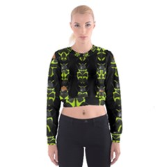 Beetles Insects Bugs Cropped Sweatshirt