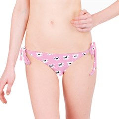 Girly Girlie Punk Skull Bikini Bottom by BangZart