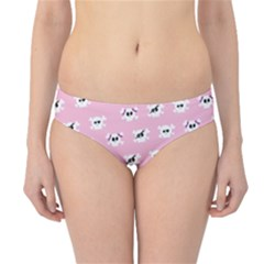 Girly Girlie Punk Skull Hipster Bikini Bottoms