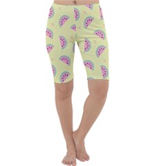 Watermelon Wallpapers  Creative Illustration And Patterns Cropped Leggings