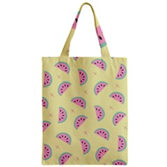 Watermelon Wallpapers  Creative Illustration And Patterns Zipper Classic Tote Bag
