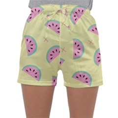 Watermelon Wallpapers  Creative Illustration And Patterns Sleepwear Shorts
