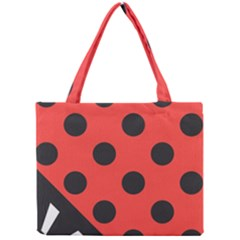 Abstract Bug Cubism Flat Insect Mini Tote Bag