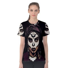 Voodoo  Witch  Women s Cotton Tee by Valentinaart