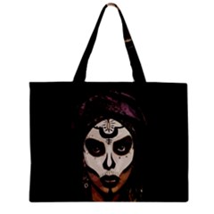 Voodoo  Witch  Zipper Mini Tote Bag by Valentinaart
