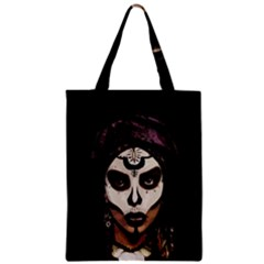 Voodoo  Witch  Zipper Classic Tote Bag by Valentinaart