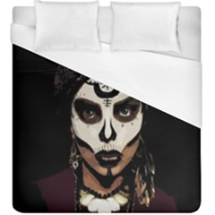 Voodoo  Witch  Duvet Cover (king Size) by Valentinaart