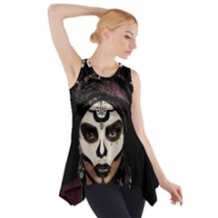Voodoo  Witch  Side Drop Tank Tunic by Valentinaart