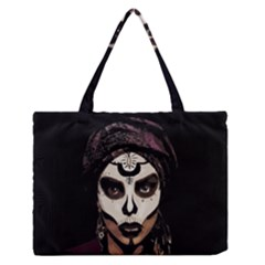 Voodoo  Witch  Medium Zipper Tote Bag by Valentinaart