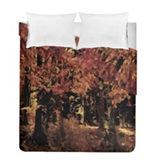 Landscape Duvet Cover Double Side (full/ Double Size) by Valentinaart