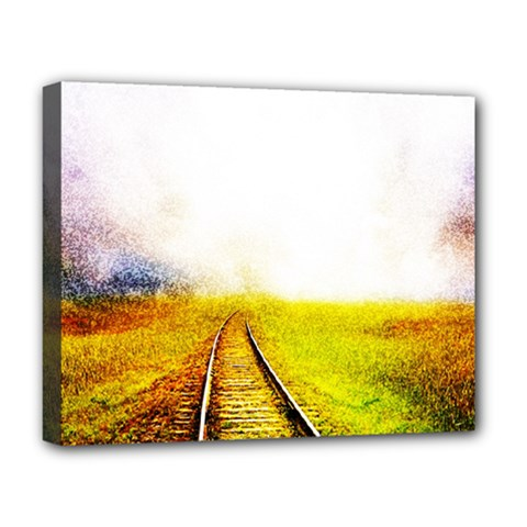 Landscape Deluxe Canvas 20  X 16   by Valentinaart