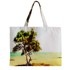 Landscape Zipper Mini Tote Bag by Valentinaart