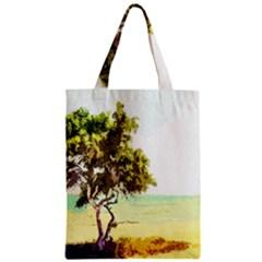 Landscape Zipper Classic Tote Bag by Valentinaart