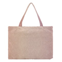 Pastel Colors Glitter Pattern Medium Tote Bag by paulaoliveiradesign