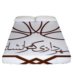 Seal Of Kermanshah  Fitted Sheet (king Size) by abbeyz71