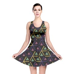 Triangle Shapes                              Reversible Skater Dress