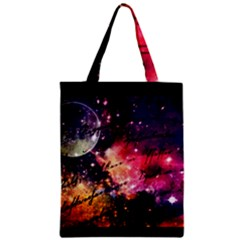 Letter From Outer Space Zipper Classic Tote Bag by augustinet