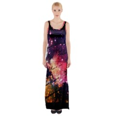Letter From Outer Space Maxi Thigh Split Dress by augustinet