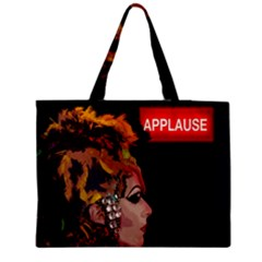 Transvestite Medium Zipper Tote Bag by Valentinaart