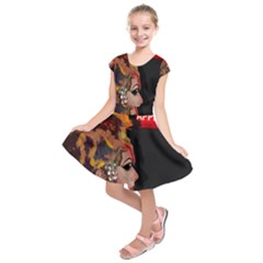 Transvestite Kids  Short Sleeve Dress by Valentinaart