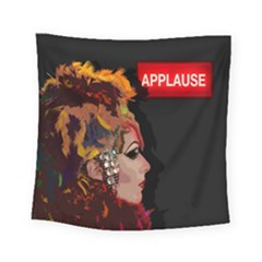 Transvestite Square Tapestry (small) by Valentinaart