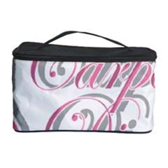 Carpe Diem  Cosmetic Storage Case by Valentinaart