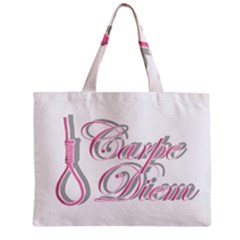 Carpe Diem  Zipper Mini Tote Bag by Valentinaart