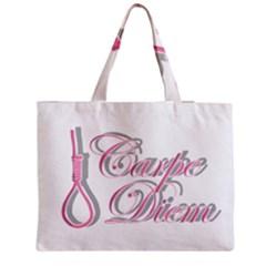 Carpe Diem  Medium Zipper Tote Bag by Valentinaart