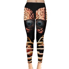 Do What Your Brain Says Leggings  by Valentinaart