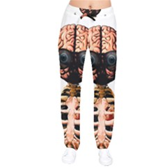Do What Your Brain Says Drawstring Pants by Valentinaart