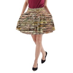 Bricks A Line Pocket Skirt