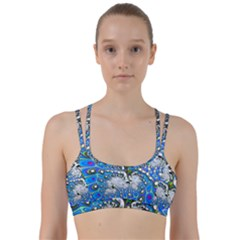 Fractal Fantasy 717b Line Them Up Sports Bra