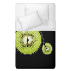Kiwi Bicycle  Duvet Cover (single Size) by Valentinaart