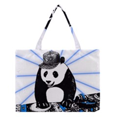 Deejay Panda Medium Tote Bag by Valentinaart