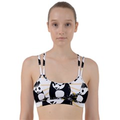 Deejay Panda Line Them Up Sports Bra