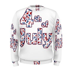 4th Of July Independence Day Men s Sweatshirt by Valentinaart
