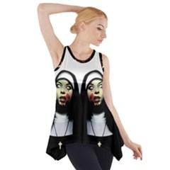 Horror Nuns Side Drop Tank Tunic by Valentinaart