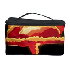 Nuclear Explosion Cosmetic Storage Case by Valentinaart