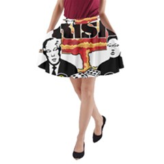 Nuclear Explosion Trump And Kim Jong A Line Pocket Skirt by Valentinaart