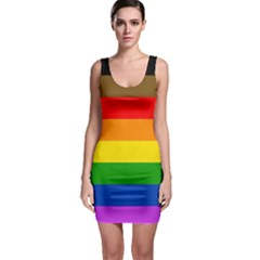 Philadelphia Pride Flag Bodycon Dress by Valentinaart