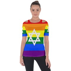 Gay Pride Israel Flag Short Sleeve Top