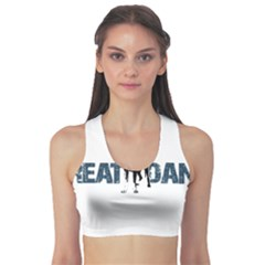 Great Dane Sports Bra by Valentinaart