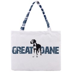 Great Dane Mini Tote Bag by Valentinaart