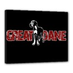 Great Dane Canvas 20  x 16