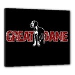 Great Dane Canvas 24  x 20