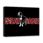 Great Dane Deluxe Canvas 20  x 16